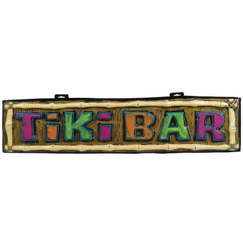Hawaiian Tiki Bar Sign 110cm