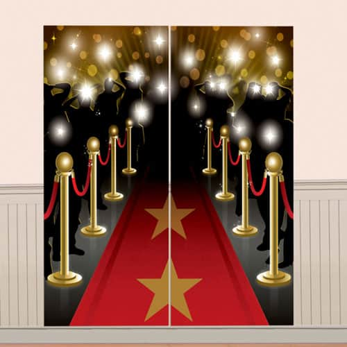 Hollywood VIP Backdrop Scene Setters 165cm - Pack of 2