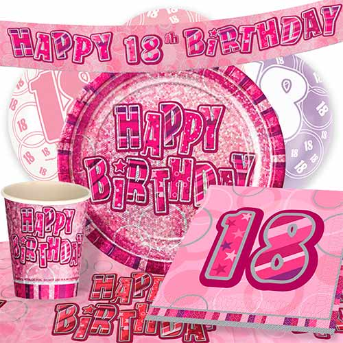 pink-glitz-18th-birthday-party-supplies-8-person-deluxe-party-pack
