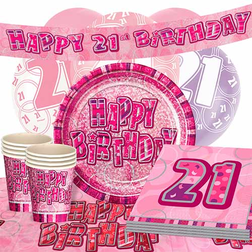 pink-glitz-21st-birthday-party-supplies-16-person-deluxe-party-pack