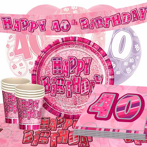 pink-glitz-40th-birthday-party-supplies-16-person-deluxe-party-pack