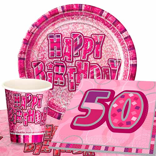 50th Birthday Party Packs