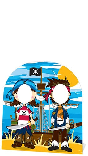 Pirate Friends Stand In Cardboard Cutout - 122cm Product Gallery Image