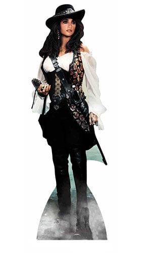 Pirates Of Caribbean Angelica Lifesize Cardboard Cutout - 165cm Product Gallery Image