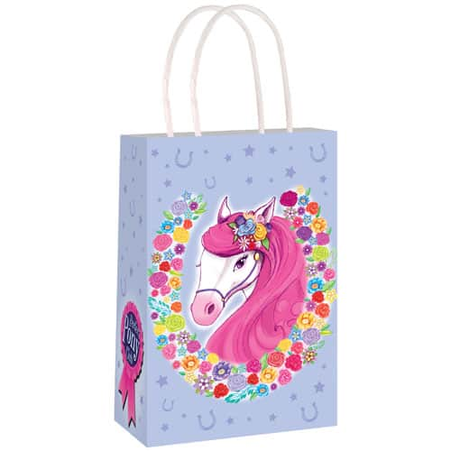 Pony Paper Bag With Handles 21cm