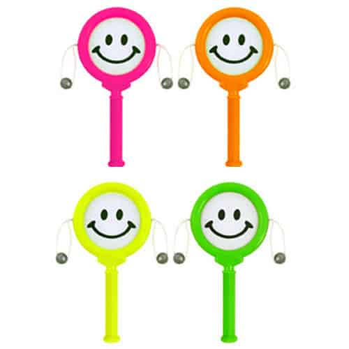Assorted Mini Spin Drum Smiley Faces Product Image