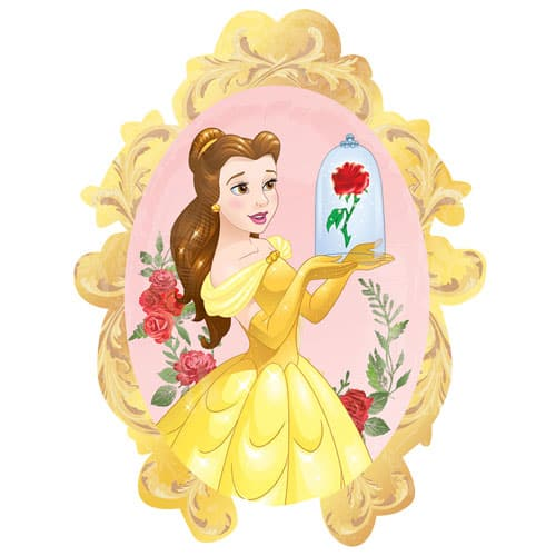 Disney Beauty And The Beast Belle Supershape Foil Helium Balloon 78cm / 31Inch
