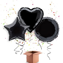 Black Balloon In A Box Category Image