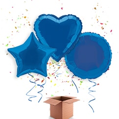 Blue Balloon In A Box Category Image