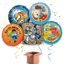 Boys Birthday Balloon In A Box Category Image