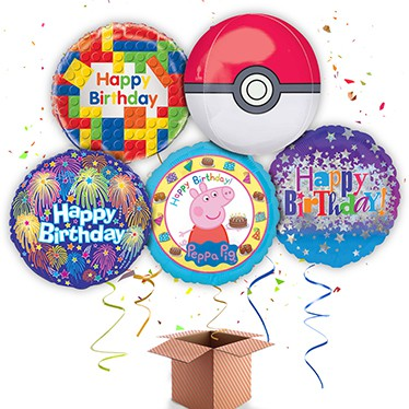 Children's Birthday Balloon In A Box Category Image