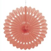 Coral Honeycomb Decoration Fan 40cm