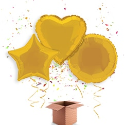 Gold Balloon In A Box Category Image