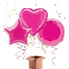 Hot Pink Balloon In A Box Category Image