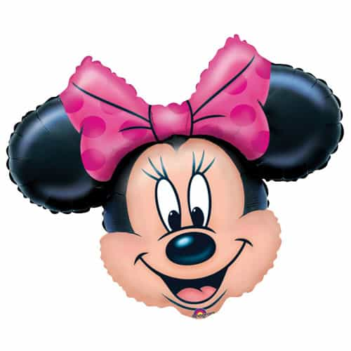 Minnie Mouse Supershape Foil Helium Balloon 71cm / 28Inch