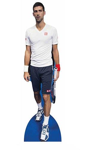 Novak Djokovic Lifesize Cardboard Cutout - 186cm Product Gallery Image