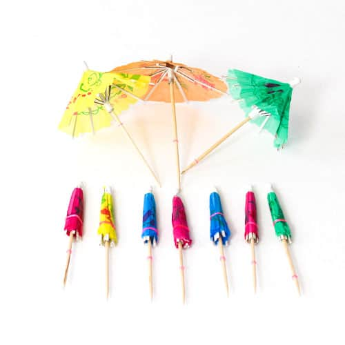 Party Parasols - Pack of 10 Product Image