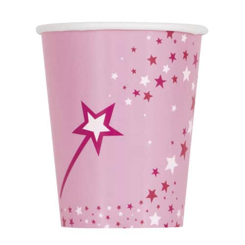 Princess and Unicorn Paper Cups 250ml - Pack of 8