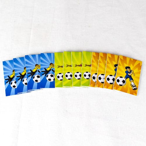Assorted Football Mini Notebooks - Pack of 12