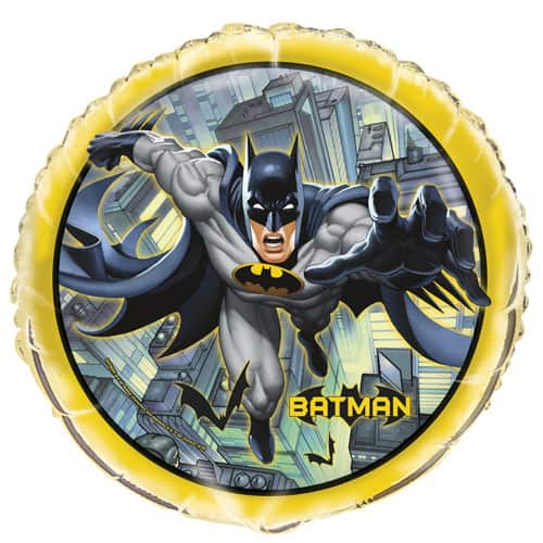 Batman Round Foil Helium Balloon 46cm / 18Inch Product Image