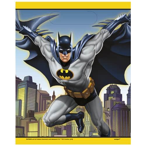 Batman Loot Bags - Pack of 8