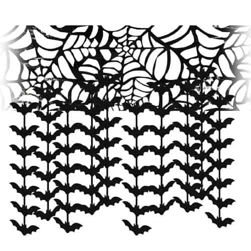Bats Ceiling Hanging Decoration 3m