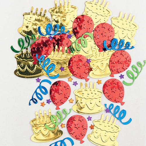Cake Party Table Confetti 14g