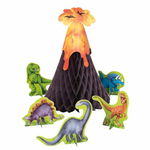 Dinosaur Centrepiece Decoration - Pack of 6 Product Image