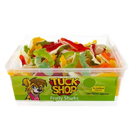 Fruity Sharks Jelly Sweets - Pack of 120