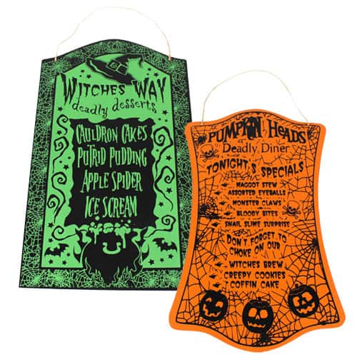 Halloween Hanging Plaque 40cm Product Image