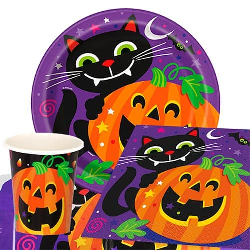 Happy Halloween 8 Person Value Party Pack Product Image