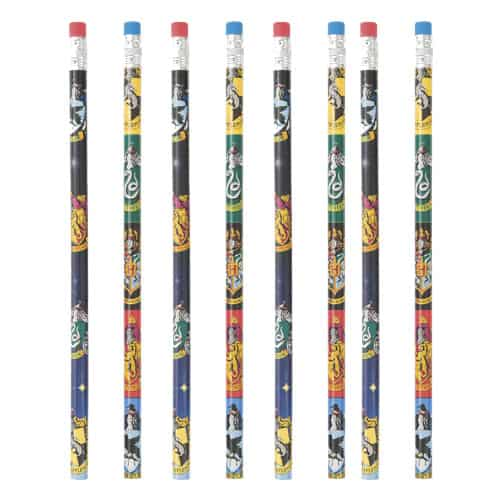 Harry Potter Pencils with Erasers - Pack of 8