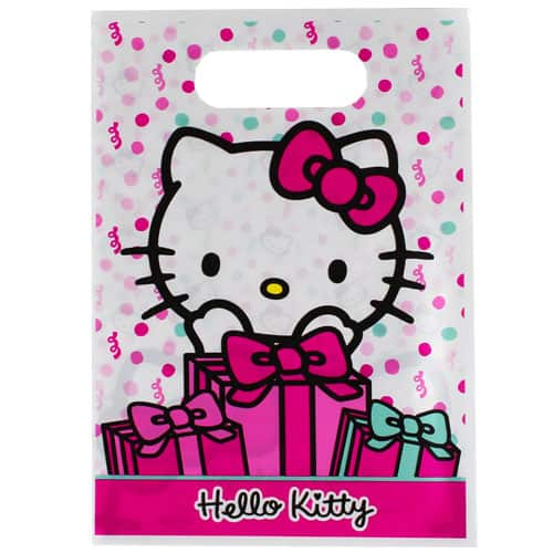 Hello Kitty Loot Bags - Pack of 8