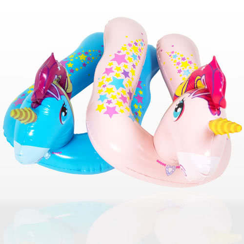 Inflatable Unicorn Split Swim Ring 56cm