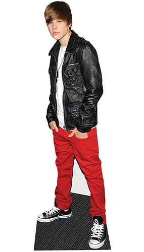 Justin Bieber Leather Jacket Lifesize Cardboard Cutout 169cm Product Gallery Image