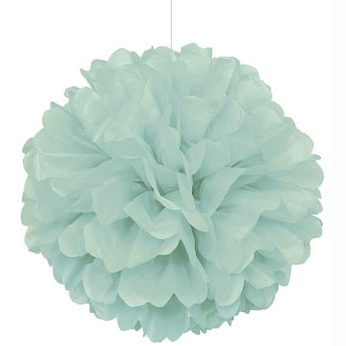 mint-decorative-puff-ball-16-inches-product-image