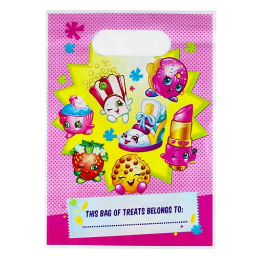 Shopkins Loot Bags - Pack of 8