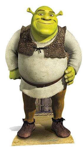 Shrek Lifesize Cartone Ritagliare 170 cm Product Gallery Image