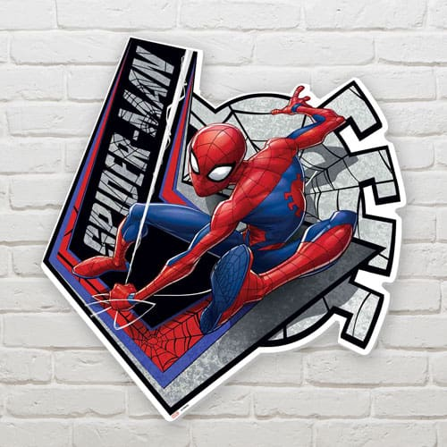 Spiderman Webbed Wonder Wall Art 70cm Product Gallery Image