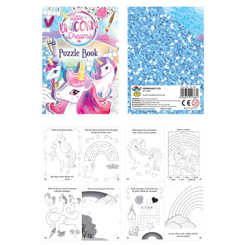 Unicorn Puzzle Book Product Image