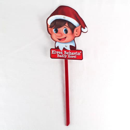Elf Design Garden Sign 55cm Product Gallery Image