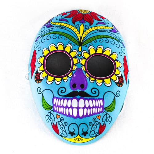 Day of the Dead Full Face Moulded Felt Mask Gallery Image