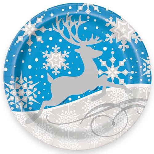 8-silver-snowflake-xmas-plate-product-image