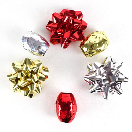 Assorted Christmas Gift Decorating Set - Pack of 6 Product Gallery Image
