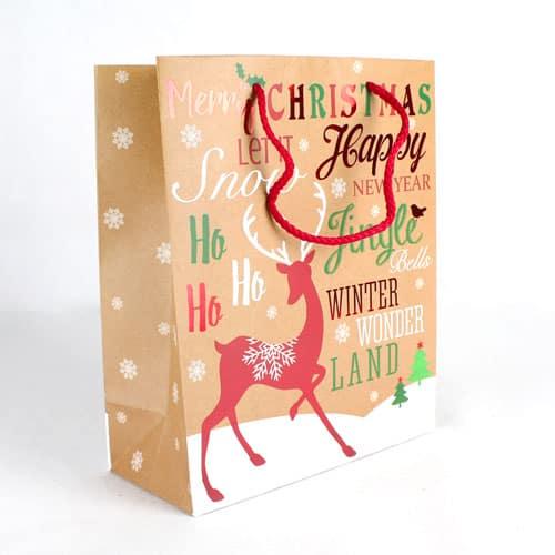 Christmas Medium Gift Bag 26cm