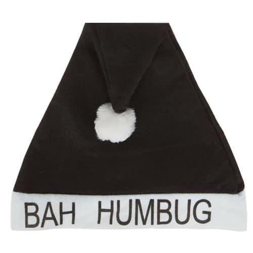 Bah Humbug Christmas Hat 40cm