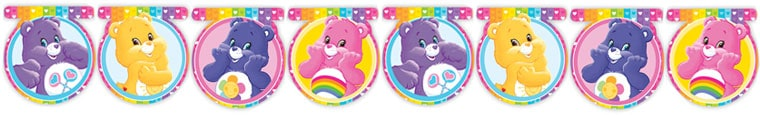 Care Bears Cardboard Jointed Banner 165cm