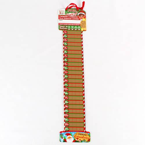 Elf Scratch Off Countdown Advent Calendar 52cm