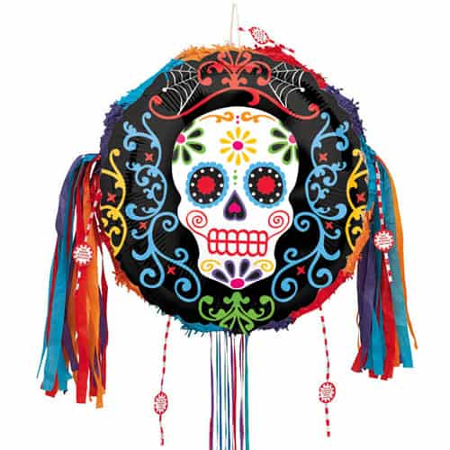 Day Of The Dead Pull String Pinata