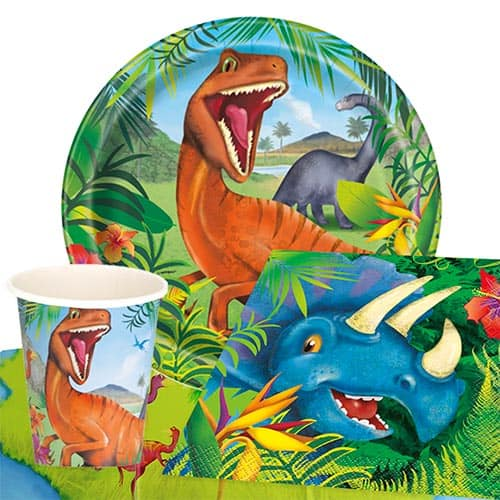 Dinosaur Fun 8 Person Value Party Pack